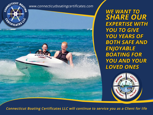Private Boating License via Connecticut Boating Certificates