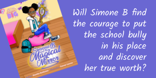 Simone B and the Magical Mirror – new children's book published #kidlit