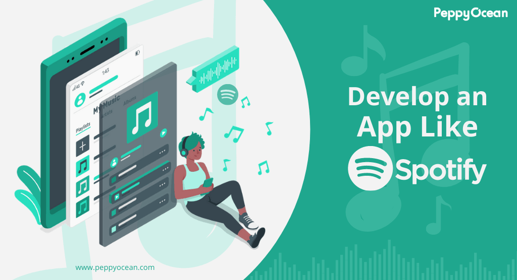 Planning to develop a music streaming app like Spotify? Get ... via PeppyOcean