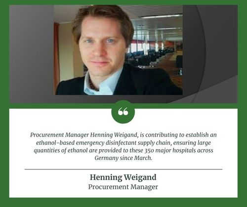 Henning Weigand | Procurement Manager via Henning Weigand