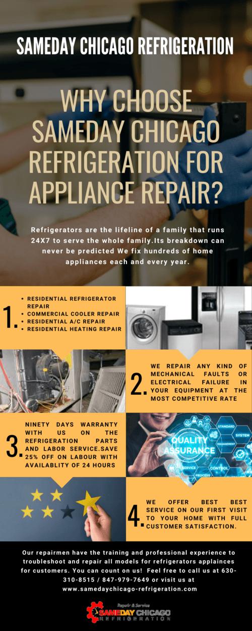 Hire Maytag Refrigerator Repair In Chicago via SameDayChicagoREF