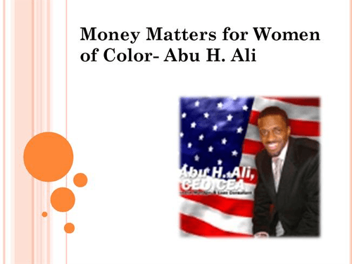 Abu H Ali- Finance Educator from Chicago