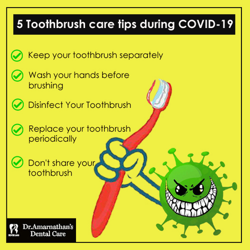 Does our toothbrush also need social distancing in this COVI... via Amarnathan