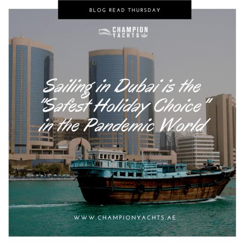 Sailing in Dubai   Champion Yachts Blog via Champion Yachts