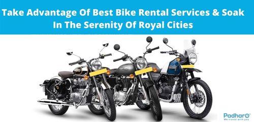 Take Advantage Of Best Bike Rental Services & Soak In The Se... via Padharo Rajasthan