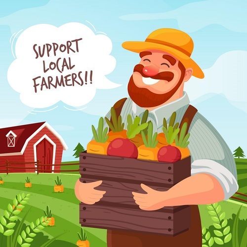5 Reasons To Shop Local And Support Farmers • Eat It BIO