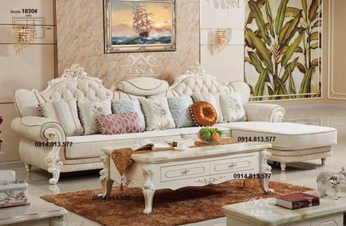 Địa chỉ mua bàn ghế sofa tân cổ điển đẹp giá rẻ hàng nhập khẩu tại Tphcm