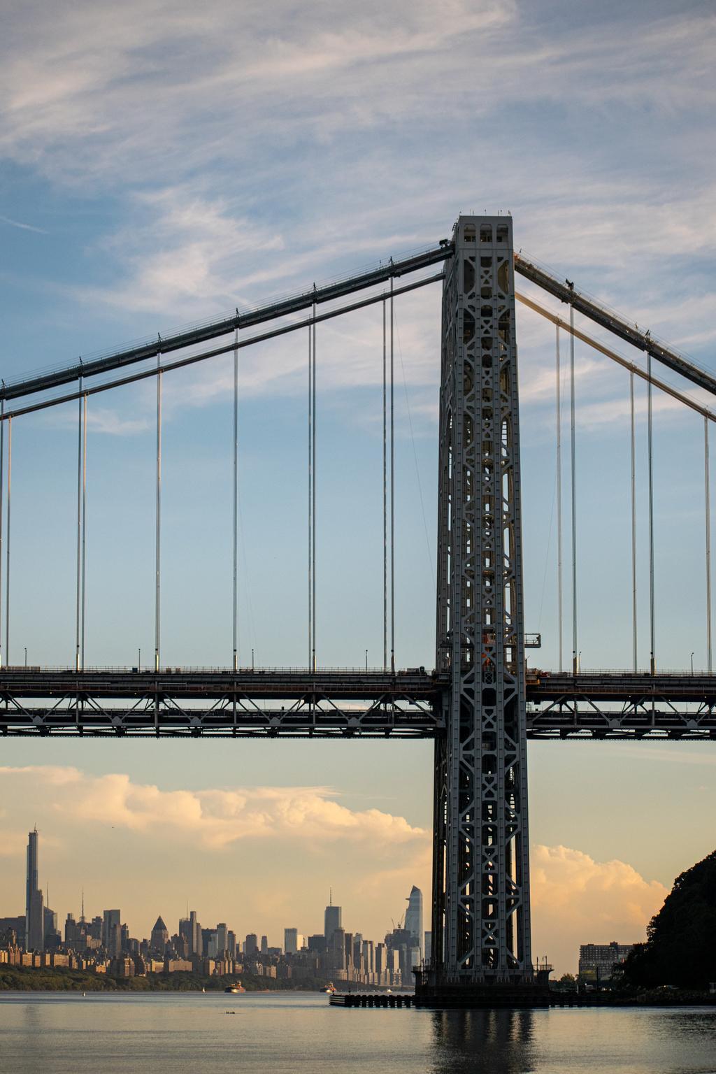 George Washington Bridge via Steven Hughes