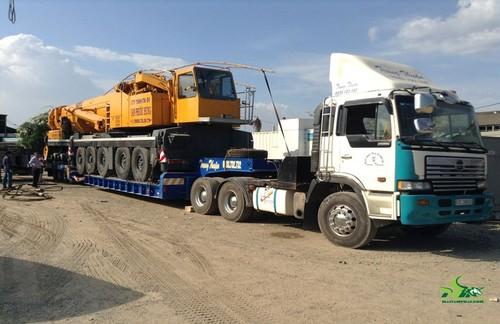 Dịch vụ vận chuyển máy công trình an toàn, chuyên nghiệp nhất hiện nay