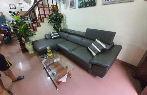 Sofa Góc Da Chữ L Cao Cấp  50+ Mẫu Ghế Sofa Đẹp Tại Showroom Thế Giới Sofa