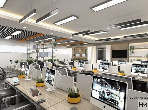 Thiết kế nội thất văn phòng chuyên nghiệp tại TpHCM - Hoàng Minh Decor