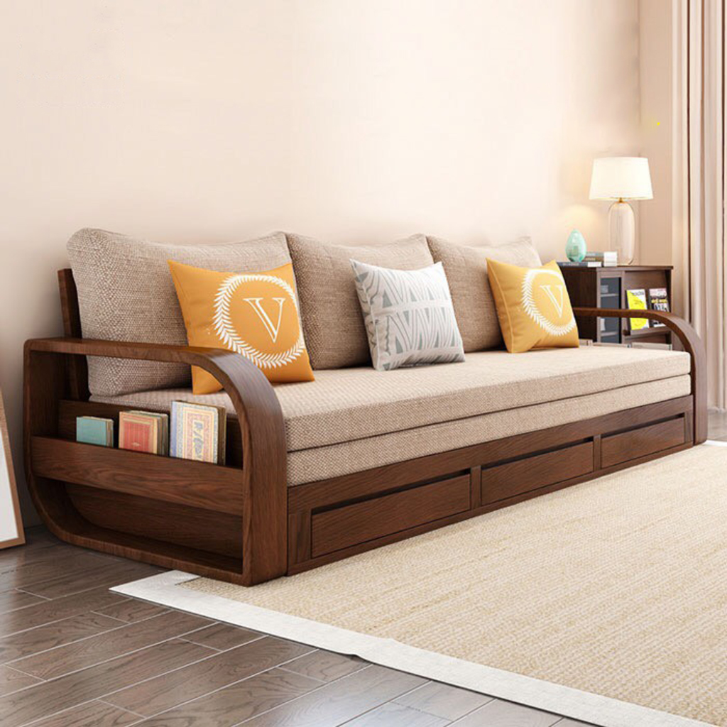 sofa giường gỗ via thegioisofa