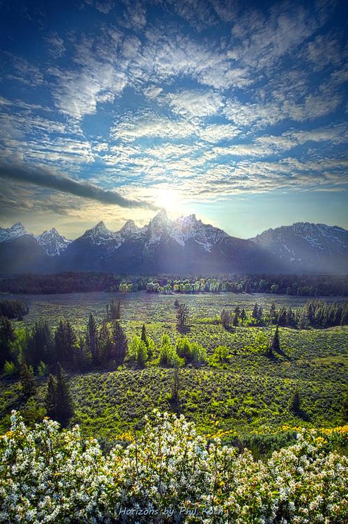 The Grand Tetons via Phil Koch