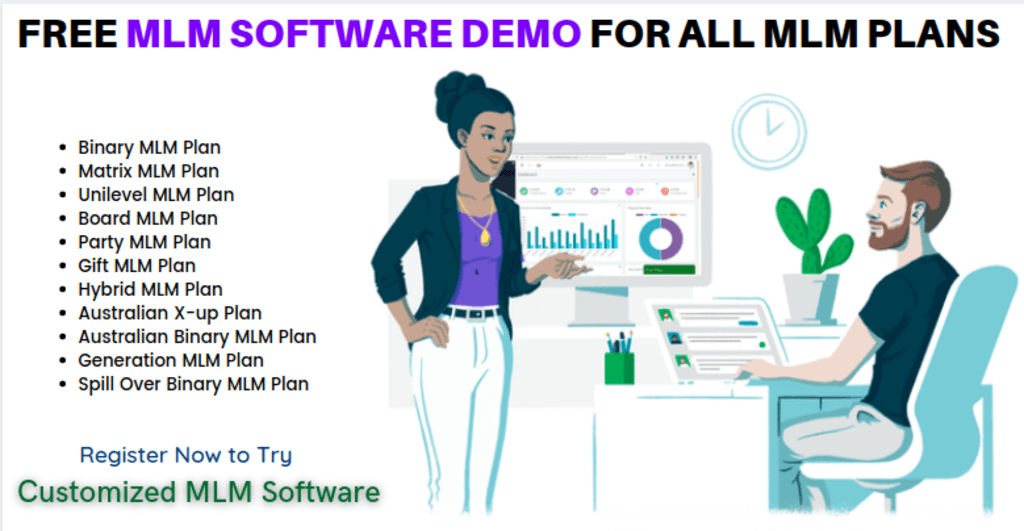 Free MLM Software Demo for all MLM Plans via Infinite MLM Software