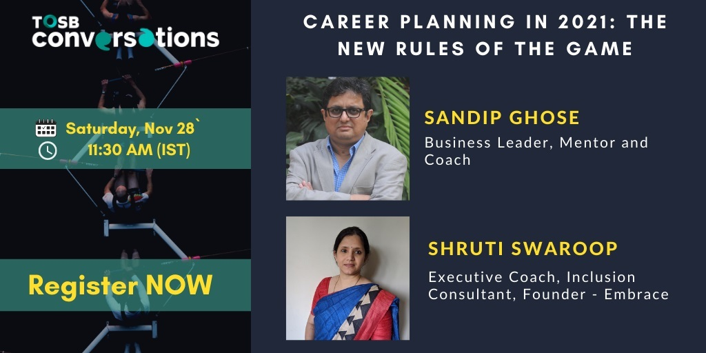 Rules of Career Planning in 2021 by Leadership Speakers via TOSB