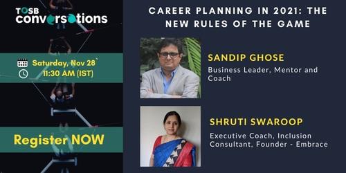 Rules of Career Planning in 2021 by Leadership Speakers via TOSB