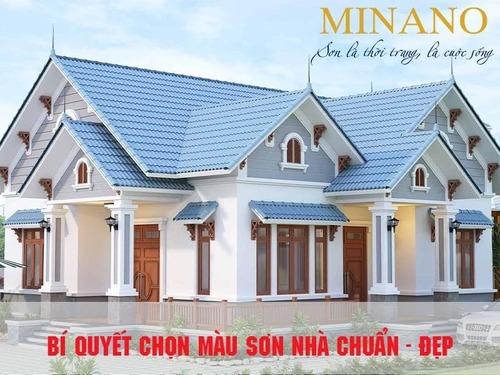 Gợi ý màu sơn nhà đẹp sử dụng nhiều theo xu hướng 2021                                     Lựa c... via Sơn Minano