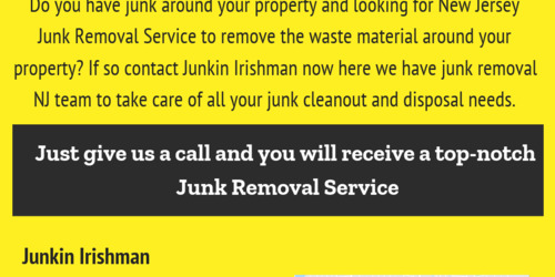 Get New Jersey Junk Removal Service to Get Rid of Unwanted Stuff  - Infogram