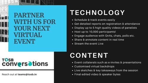 Host your next online event with #TOSB. Our team is experien... via TOSB