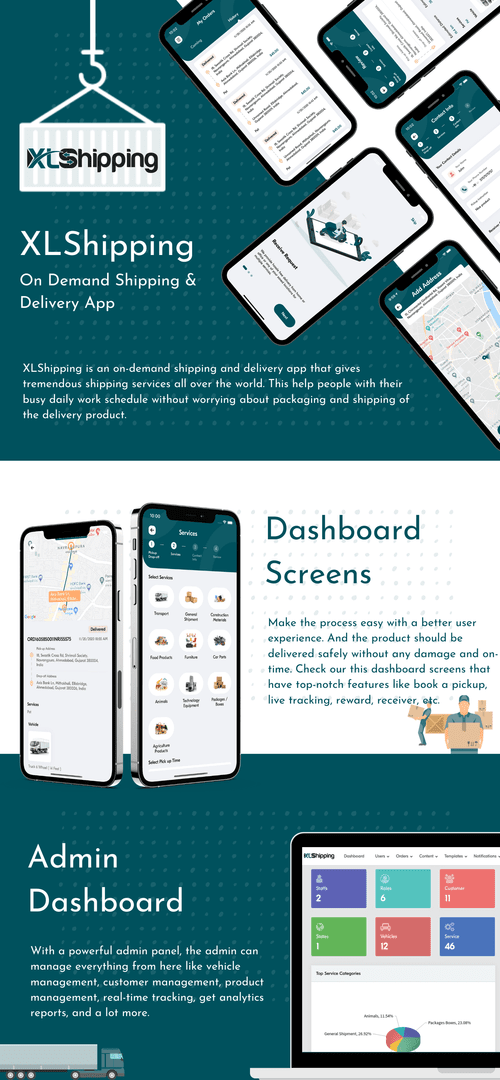 XLShipping - On Demand Shipping and Delivery App