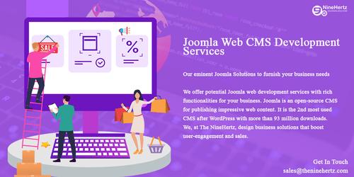 Joomla development company via The NineHertz