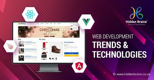 Trends In Web Development | Web Development Trends 2021