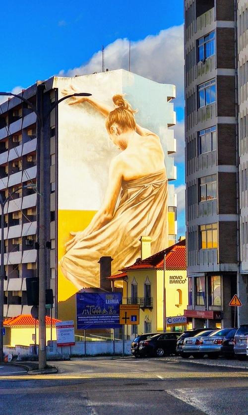 Urban art via Gil Reis