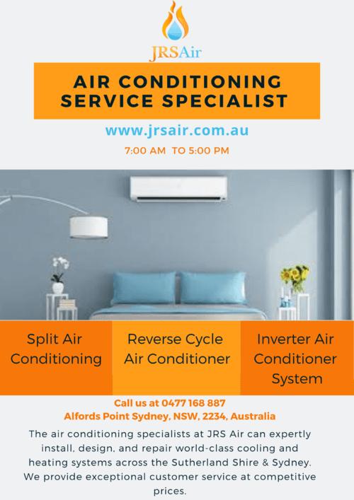 Air Conditioning Installation Service Specialist Sydney via JRS Air
