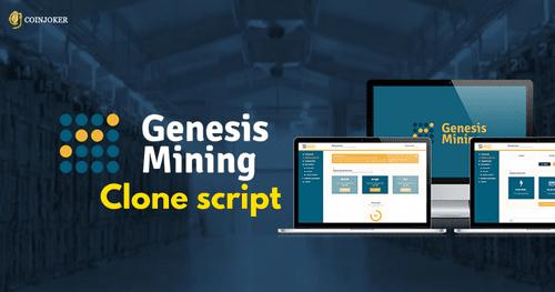 Genesis Mining Clone Script Development - Coinjoker                                         Genesis ... via amara