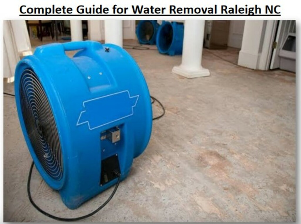 Carolina Restoration Services prepared document of water dam... via Carolina Restoration Services