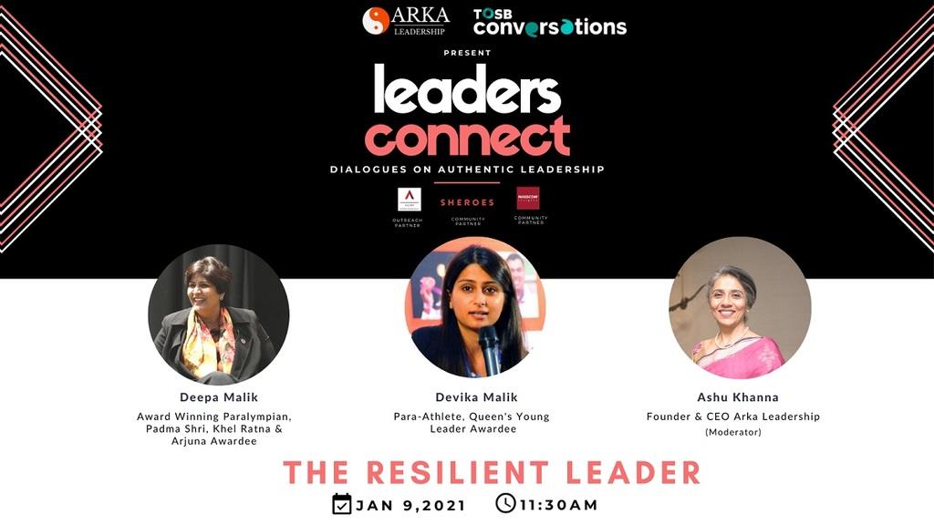TOSB Conversations present Leadership Speakers in India via TOSB