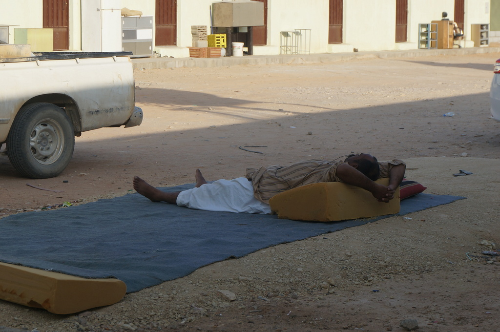 Time to relax@ sudair KSA via Opel Mendoza