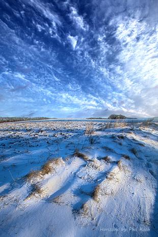 January Blues via Phil Koch