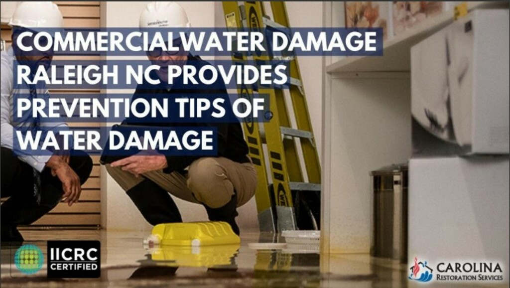 Carolina Restoration Services is prepared to recover any amo... via Carolina Restoration Services
