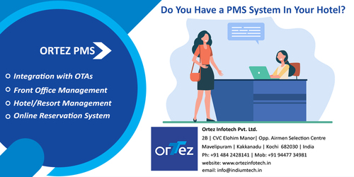 Hotel Management Software Dubai via Ortez Infotech