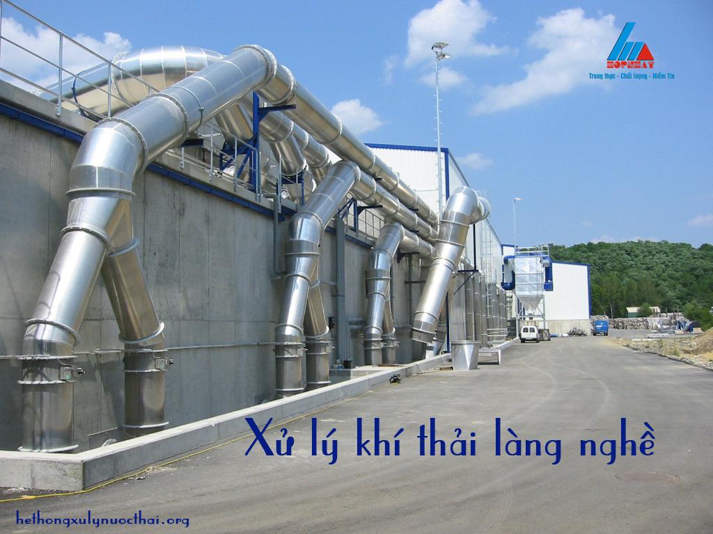 Giải pháp xử lý khí thải làng nghề hiệu quả via Hợp Nhất