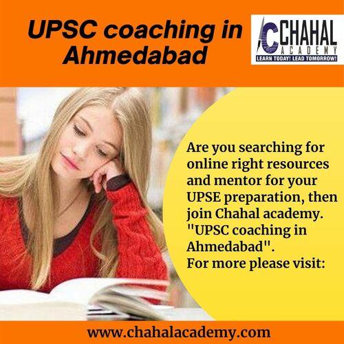 Chahal Academy- Online IAS|UPSC Coaching in Ahmedabad via Chahal Academy