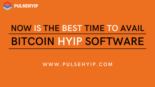 By building a #HYIP #Software in the top of #Blockchain, it ... via leesa daisy