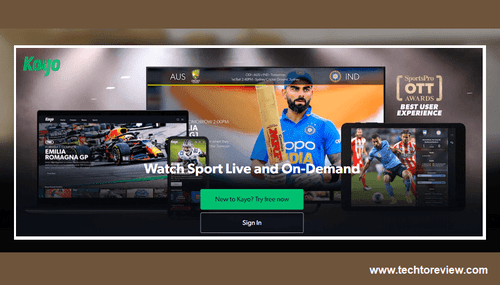 Kayo Sports- Watch Your Favorite Sports Live Or On-demand