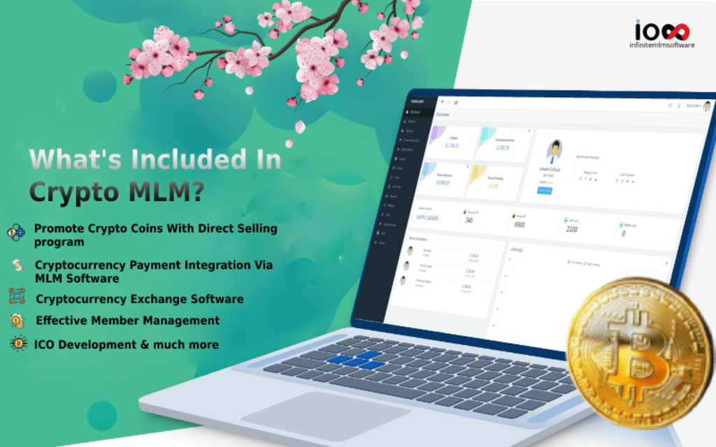 Cryptocurrency MLM Software - Blockchain Based MLM Software via Infinite MLM Software
