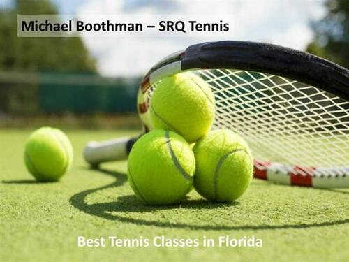 Michael Boothman - Professional Tennis Coach in Florida