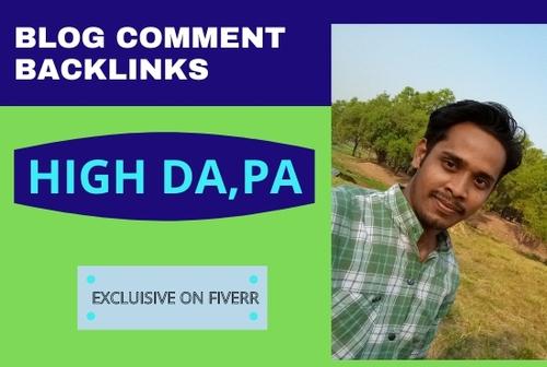 Blog comment backlinks via Sowrav Islam