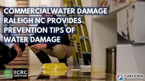 Carolina Restoration Services is prepared to recover any amo... via Carolina Restoration Services