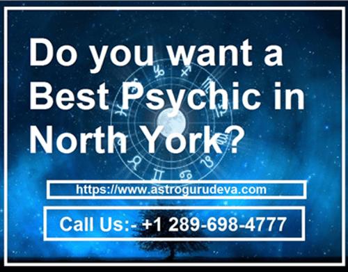 Book your Appointment with the Psychic Medium in North York via Astrologer Guru Deva ji