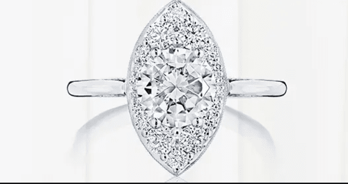 Marquise Engagement Rings |  Tacori® via Rena Lowery