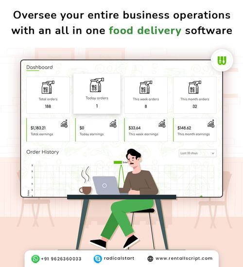 Food Delivery Software via RadicalStart