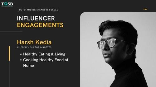 Best Entrepreneurship Speaker in India Harsh Kedia via TOSB