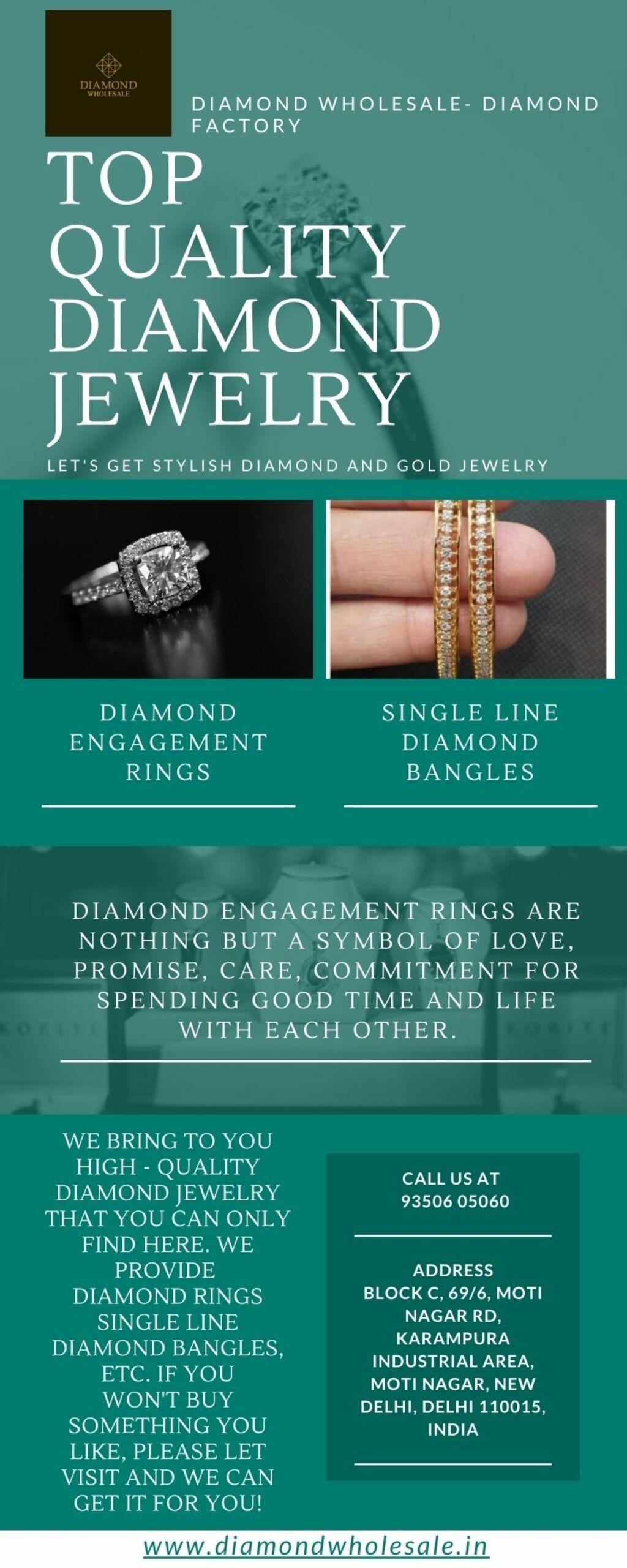 Designer Diamond Rings via Diamond Wholesale