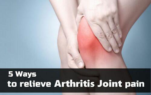 5 Ways to Relieve Arthritis Joint Pain • ModernLifeBlogs