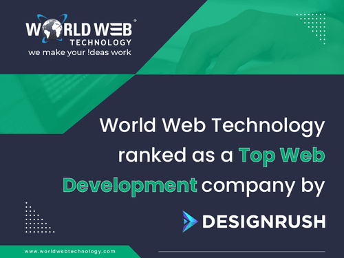 World Web Technology is pleased to announce that we are reco... via World Web Technology Pvt. Ltd.
